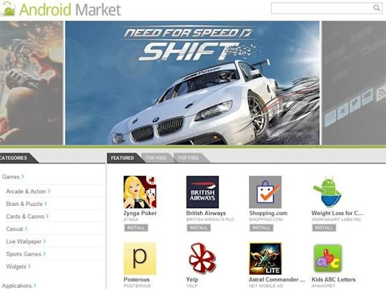 Android Market gets a web store with OTA installations, in-app purchases coming soon