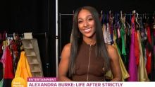 Alexandra Burke sets record straight on Strictly drama