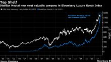 Chinese Liquor Maker Closes Market Value Gap With LVMH