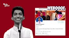 Comedian Shyam Rangeela's Account Taking a Dig at PM Modi Is Fake!