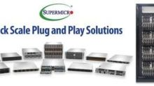 Supermicro Introduces Rack Scale Plug and Play Solutions Delivering Pre-Defined and Pre-Tested @ Scale Data Center Configurations for Cloud, AI, and 5G/Edge