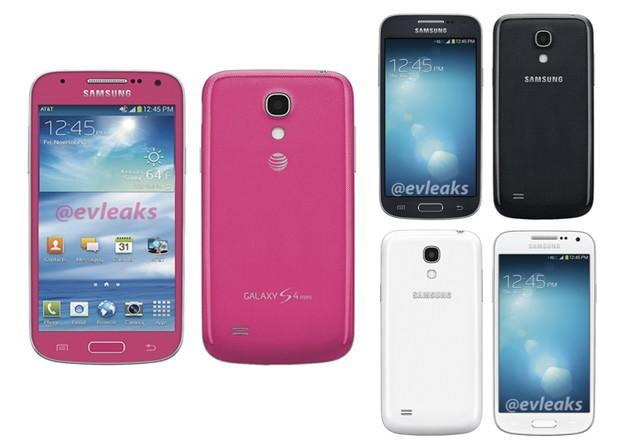 Galaxy S4 Mini leaked in bubble gum colors for AT&T and Sprint (update: Verizon too)