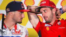 Duelo Ducati en cabeza, Miller y Dovizioso