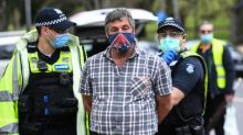 Victoria police arrest 14 people at illegal anti-lockdown protests in Melbourne