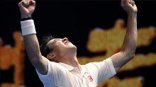 Nishikori pushed to 5 by a vintage Karlovic in Australia