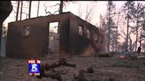 Structures Destroyed By Chariot Wildfire