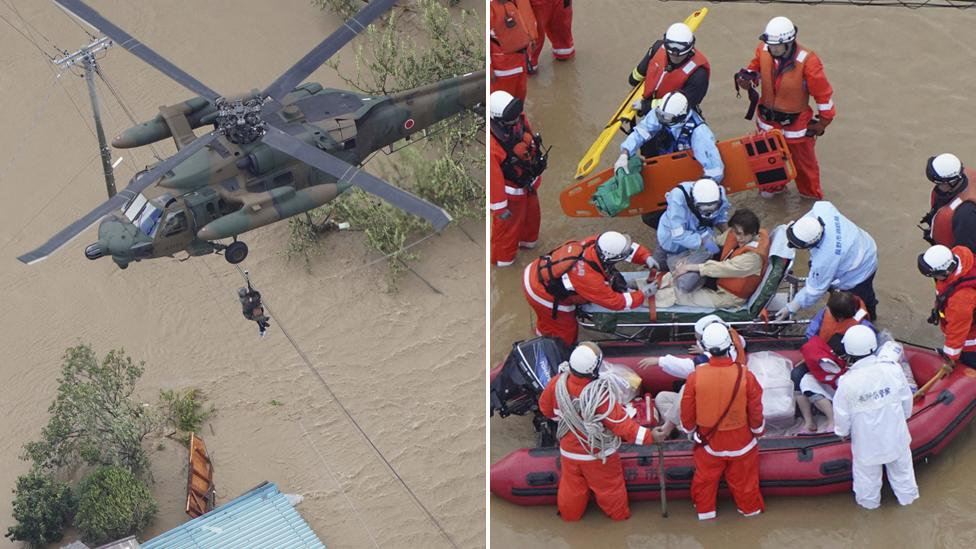 Death toll rises in Japanese typhoon as 4.4 million ordered to evacuate
