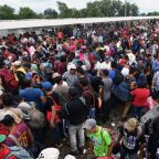 Trump has 'alerted' US border patrol and military that migrant caravan travelling from Mexico is 'national emergency'