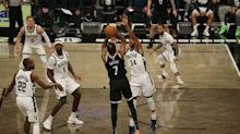 Kevin Durant's go-ahead three gives Nets 125-123 win over Bucks