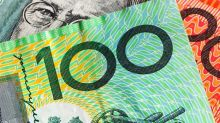Aussie dollar rallies slightly to test resistance on Tuesday