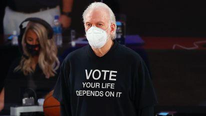 Pop: NBA has better leadership than USA