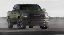 Ram 1500 Marines-inspired Built to Serve edition wears tank-like green paint