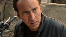 Nicolas Cage injured on set of heist film