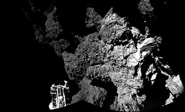 ESA's comet lander is stuck in the shadows (and it needs solar power)