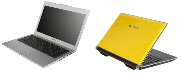 Gigabyte unveils U2442 ultrabooks and P2542G gaming laptop at CeBIT