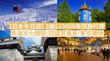 【聖誕旅遊】 3個一萬有找旅行團 新潟文化體驗/四國賞美景/東京購物