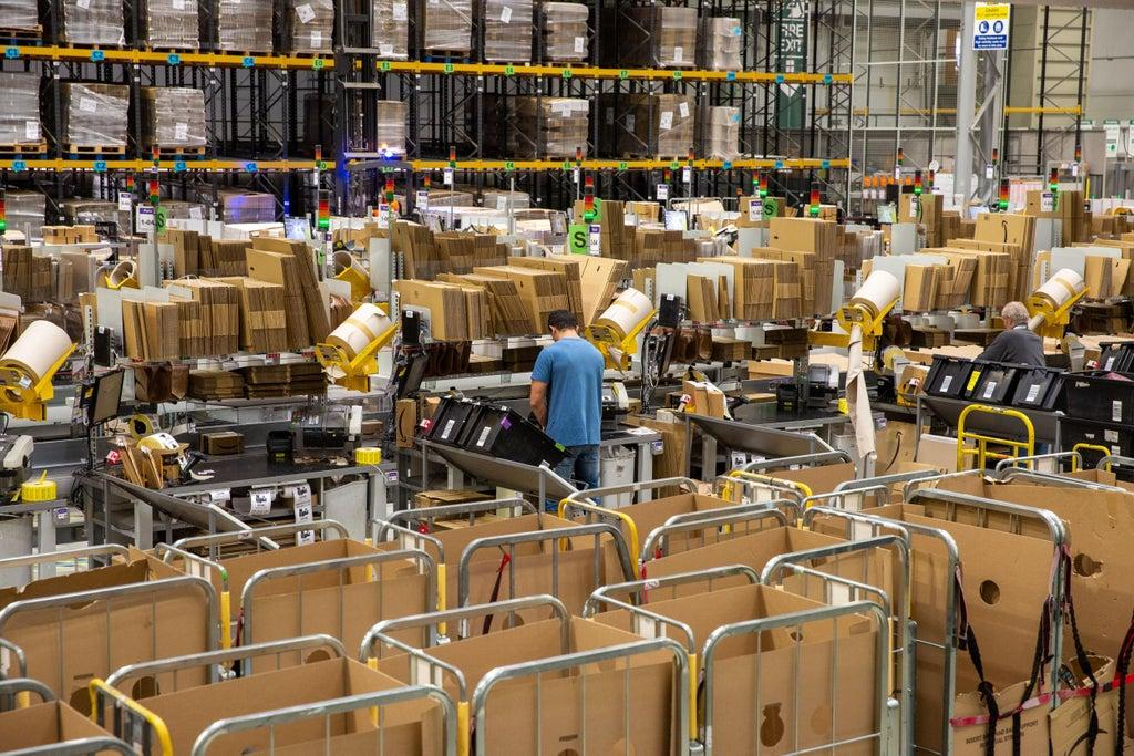 California could force Amazon to reveal productivity quotas that critics  say limit workers' bathroom breaks