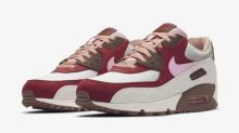 The Nike Air Max 90 'Bacon' reimagines the tasty breakfast staple at different stages of preparation