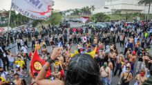 Indonesian workers stage rallies over passage of controversial jobs bill