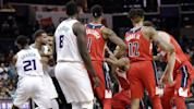 Fight on: Two more ejected in NBA dust-up