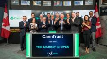 CannTrust Holdings Inc. Opens the Market