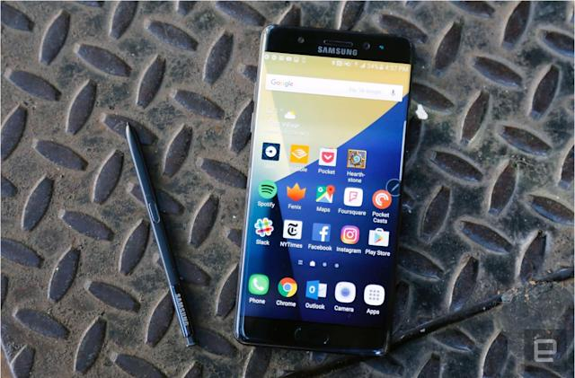 Consumer Product Safety Commission: Stop using the Galaxy Note 7
