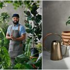 Hilton Carter just dropped a line of faux plants, propagation tools and accessories at Target