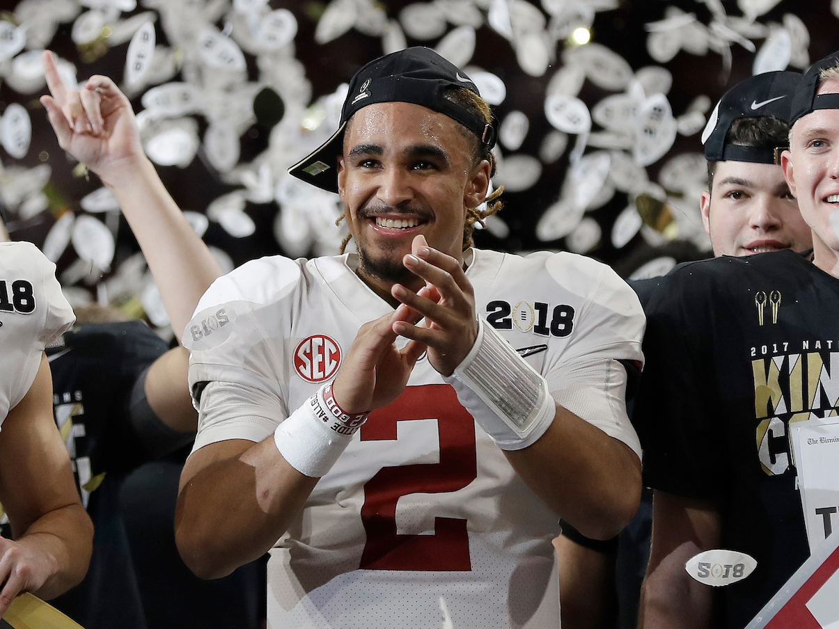 TUSCALOOSA Ala AP Alabama coach Nick Saban responded Wednesday to quarterback Jalen Hurts saying the QBs recent comments about his treatment by