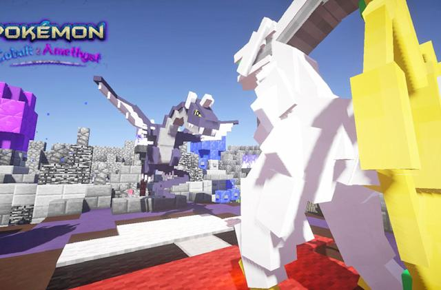 An entire 'Pokémon' game is playable inside 'Minecraft'