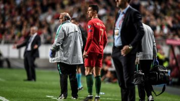 Ronaldo scares Juve with suspected hamstring injury