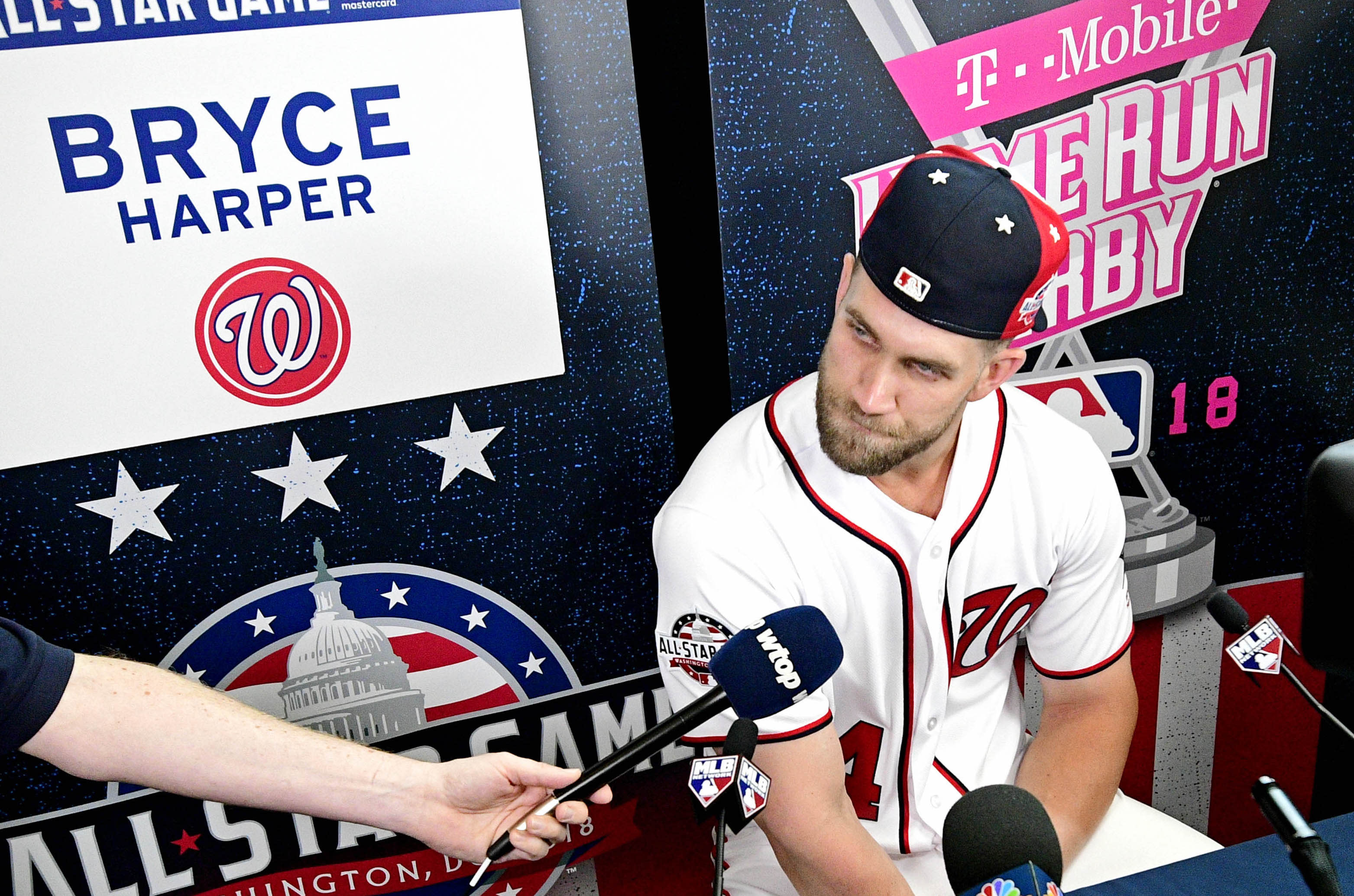 With All-Star Game in Washington, Bryce Harper looks back on baseball life, ahead to uncertain future