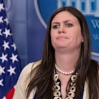 Sarah Sanders invented story about FBI agents' reaction to Comey firing, Mueller report says
