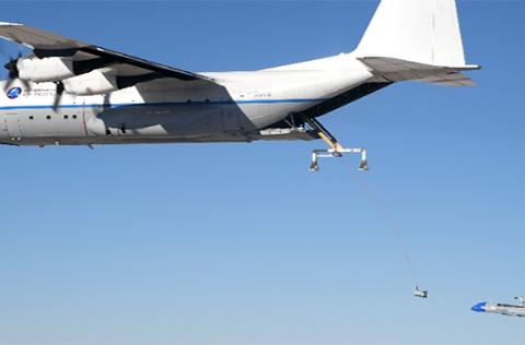 DARPA says it's getting closer to snatching drones out of midair