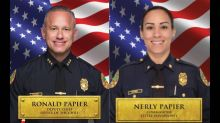 Chief fires Miami's most powerful police couple. They vow to fight for their jobs