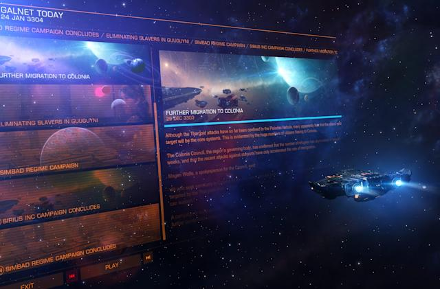 'Elite Dangerous: Beyond' Chapter One arrives on February 27th