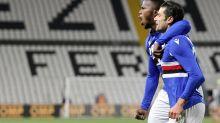 Promoted Spezia beats Sampdoria 2-1 in Ligurian derby