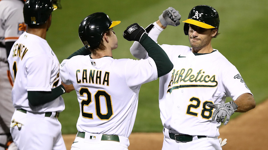 A's punch ticket to third straight playoffs