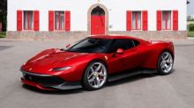 Ferrari reveals one-off SP38 supercar