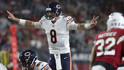 Where do Bears stand with Glennon's flop?