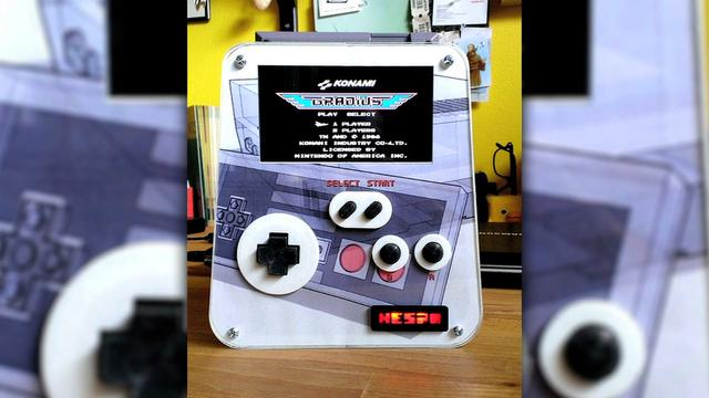 Homemade portable NES pushes our buttons, Ep. 134