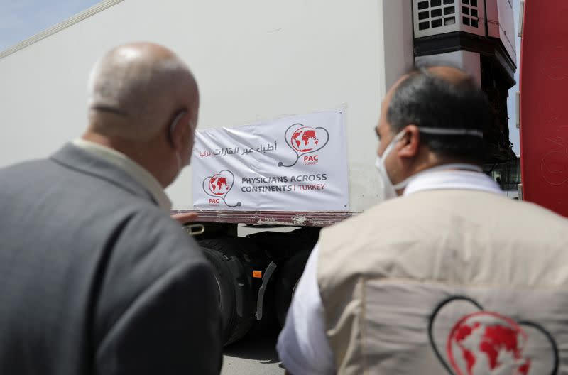 First batch of COVID-19 vaccines arrives in northwest Syria