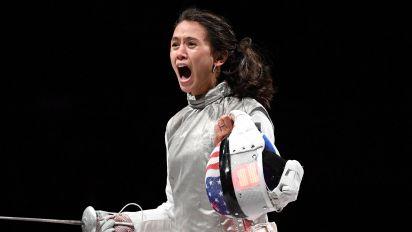 Kiefer wins breakthrough fencing gold for U.S.