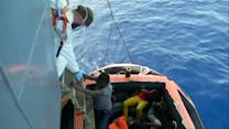 Migrant rescue at sea