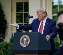 Trump broke presidential protocol by turning a standard White House press statement into a rambling, rally-like attack on Joe Biden