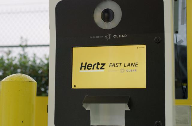 Hertz is using biometrics to speed up car rentals