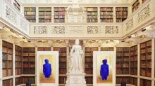 Can a stately home be where the art is? Yves Klein at Blenheim is the latest artist intervention in a grand residence