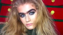 Meet the Instagram model totally owning her unibrow