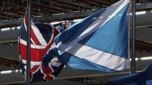 Britain's May to press for strong union on Scotland visit