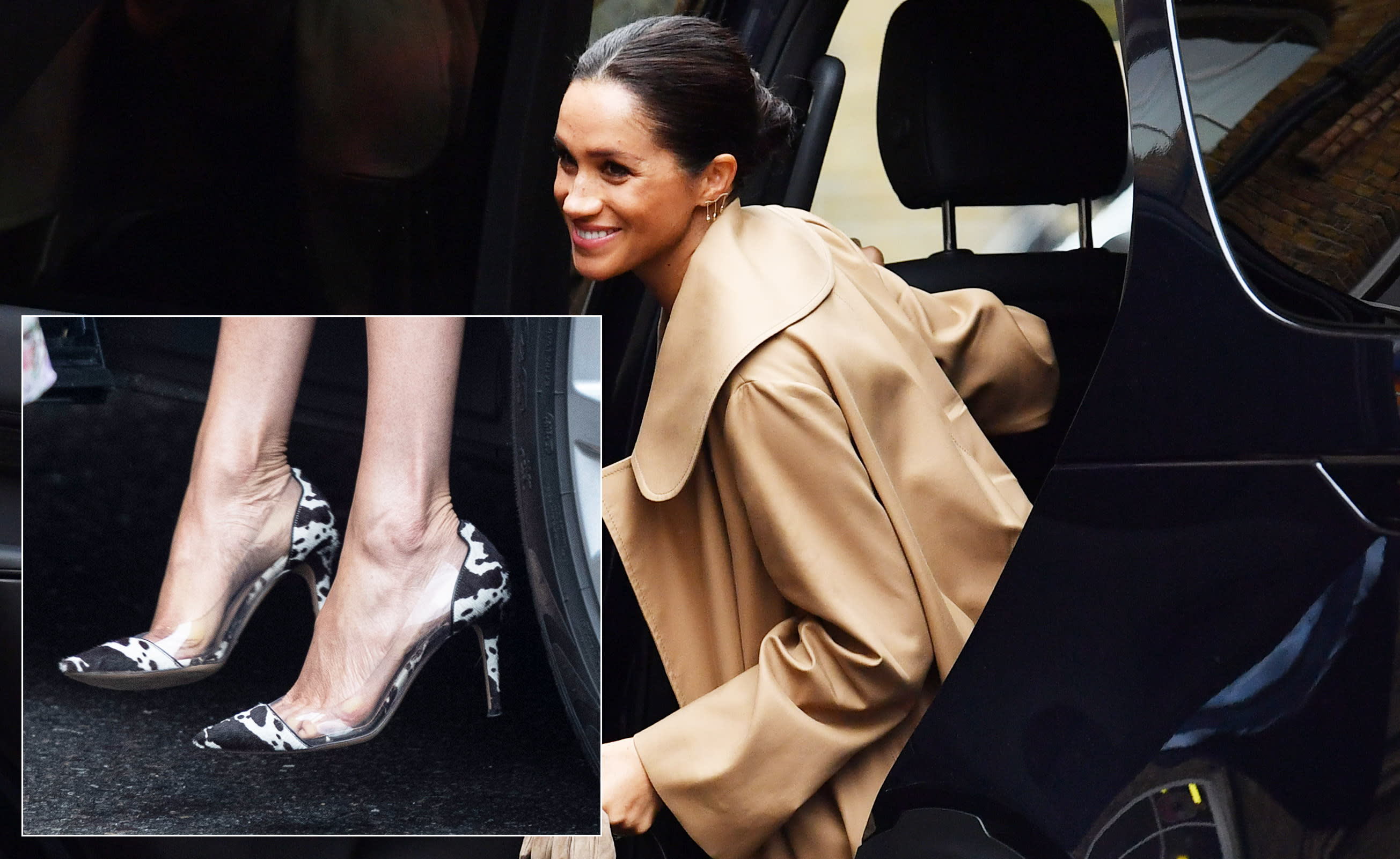 e2cd8784c9a First spotted in an Instagram photo of her shoe collection that the Duchess  uploaded back in her social media
