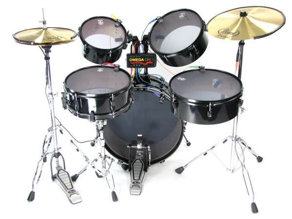 Omega GM-1 lets you bring your real drum set to Rock Band